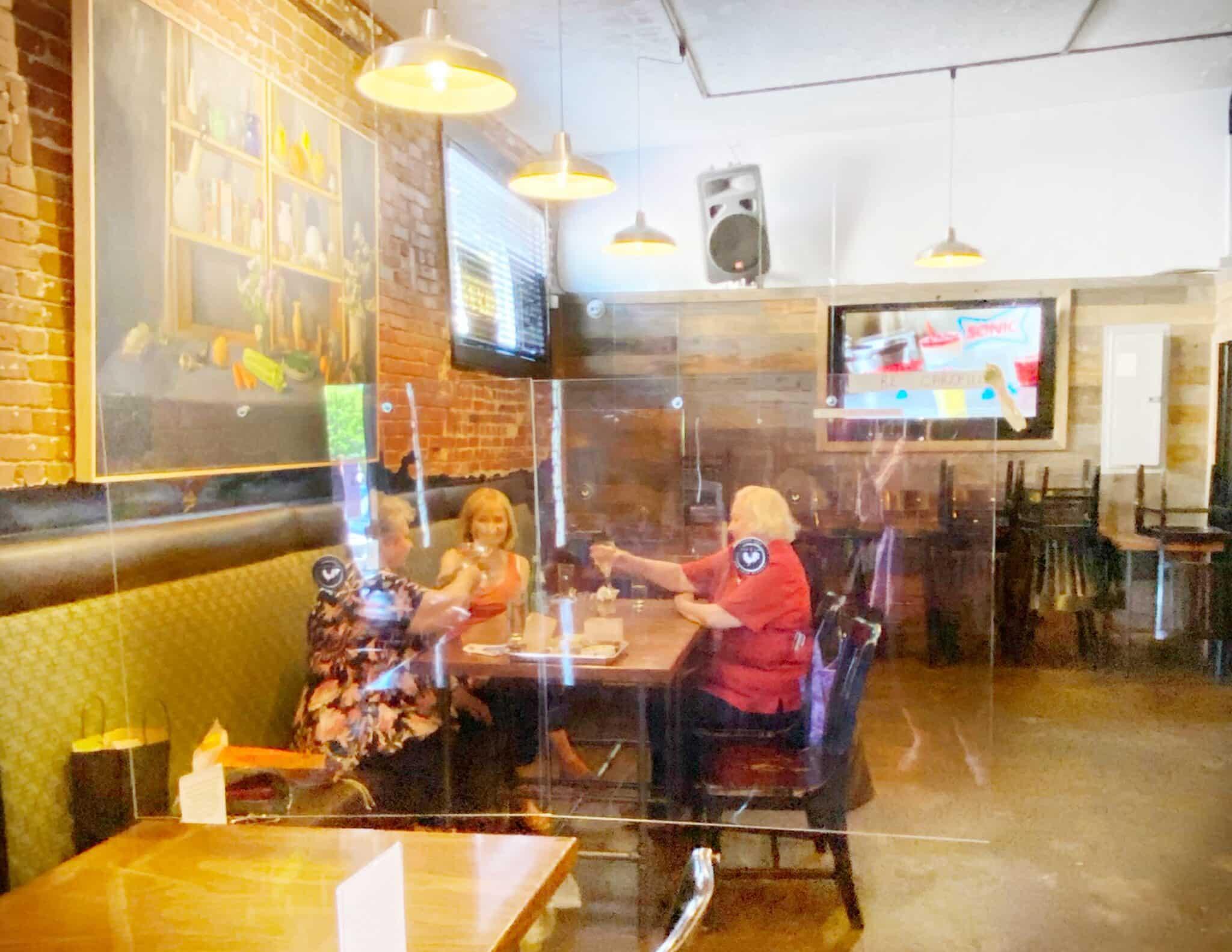 Social Distancing at the Bird & Rye Ashland Oregon