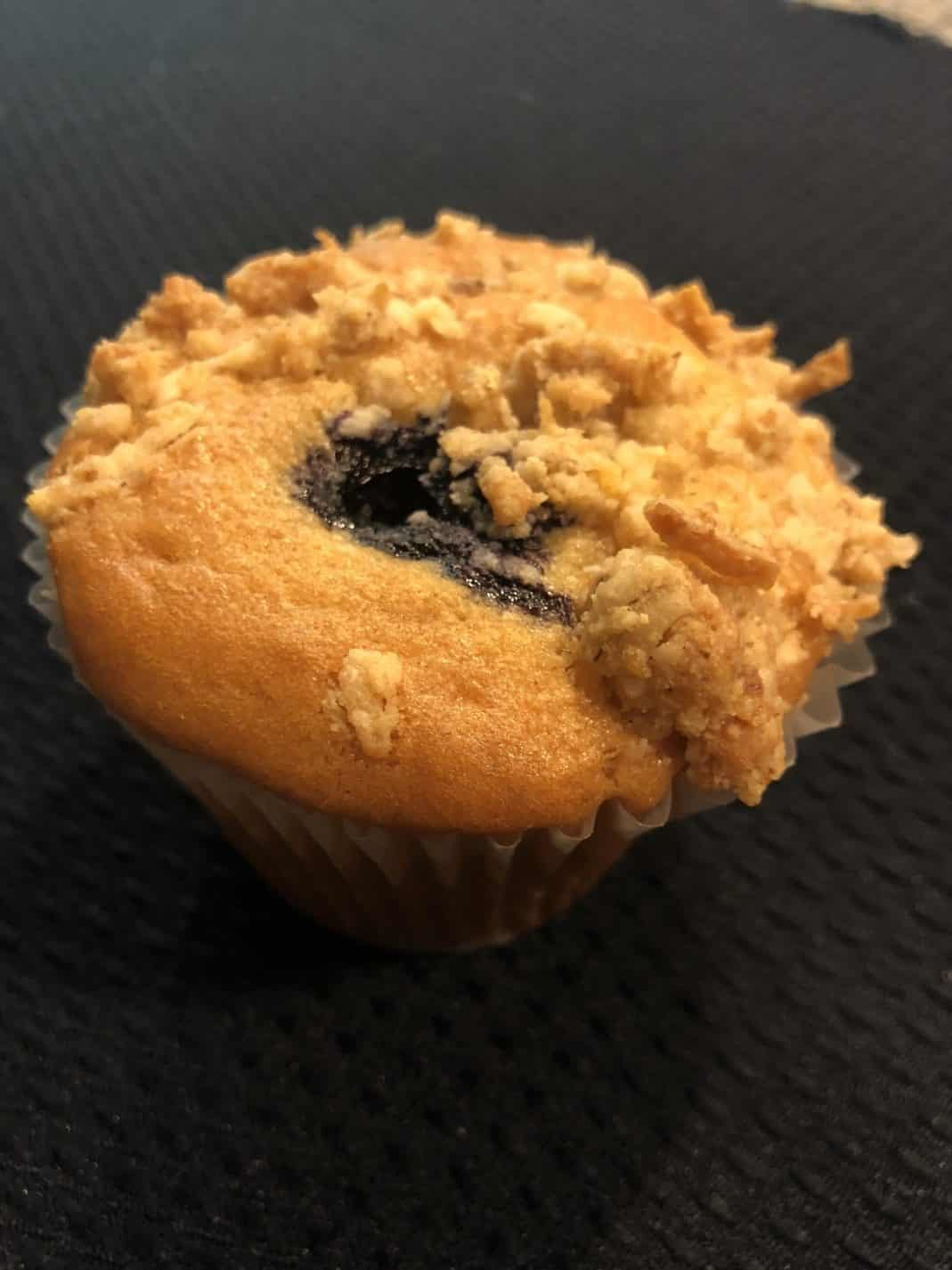 Blueberry Vegan Breakfast Muffin