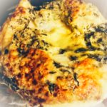 Spinach and Fetta Cheese Muffin