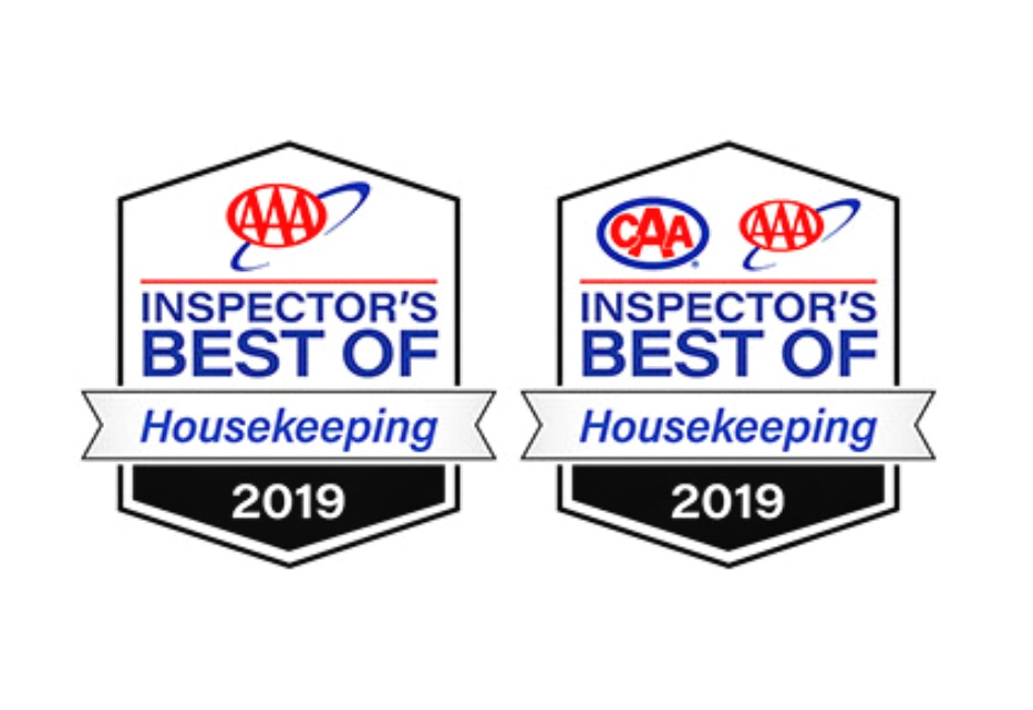 Top AAA scores for our Housekeeping.