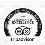 Hall of Fame and Excellence for Five Years Running on Trip Advisor